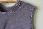 Works in Progress: Sleeveless T-Shirt Top