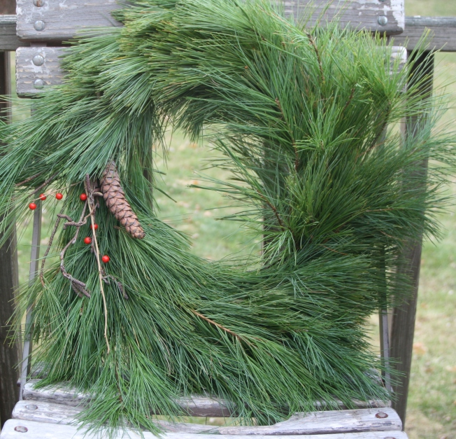 One Way to Make a Wreath (Pattern and Branch)